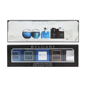 ブルガリ メンズ ギフト コレクション N(ミニ)BT 5ml × 5 (男性用香水セット)|glass-oner