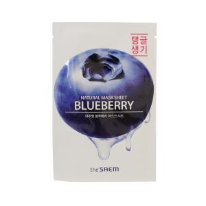 ザ セム ナチュラル マスクシート #ブルーベリー 21ml (スキンケア用シートマスク) glass-oner