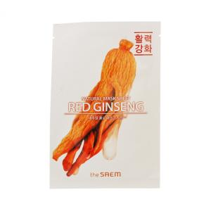 ザ セム ナチュラル  マスクシート #紅参 21ml (スキンケア用シートマスク) glass-oner