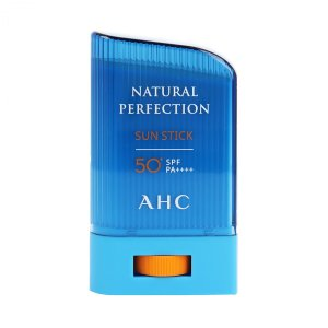 AHC ナチュラル パーフェクション サンスティック SPF50+ PA++++ 22g (日焼け止め) glass-oner