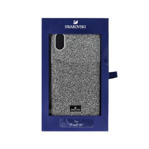 スワロフスキー SWAROVSKI #5449147 HIGH スマートフォンケース #シルバー I-PHONE XR用 (iPhone用ケース) glass-oner