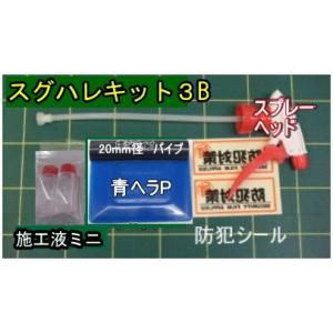 【フィルム施工ツール】スグハレキット3B ガラスシート施工用 標準厚さ(200μm以上)ガラスフィルム 施工セット|glass-safe
