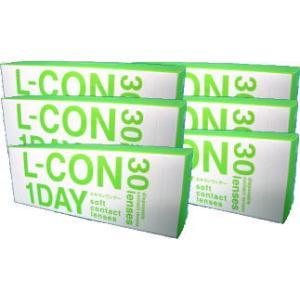 コンタクトレンズ ワンデー エルコンワンデー 6箱セット|glasscore