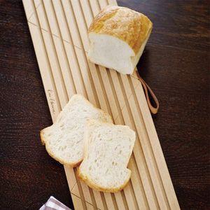 寝かせて切るから、ふんわりパンもつぶさずスライスできる♪「もっと簡単!便利に!楽しいブレッドライフ」...
