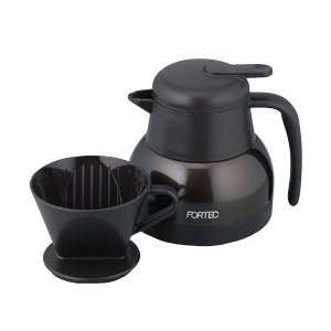 卓上ポットにドリッパーを直接設置できるので、コーヒーをそのままポットにドリップできます♪  ■片手で...