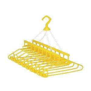 アーネスト 幸福の黄色いハンガー 10連式 A-75116の商品画像|ナビ