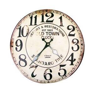ハットトリック WALL CLOCK WORK HOUSE ウォールクロック ワークハウス 1J-045 glassgow