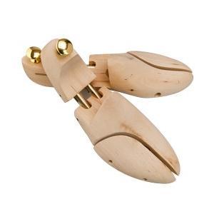 ● 高級靴にマッチする木型で開発された廉価版のシュートゥリーです。 ● 本体、ヒール部分共に細身にシ...