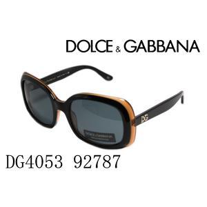 ドルチェ&ガッバーナ サングラス DG4053 92787|glassmania