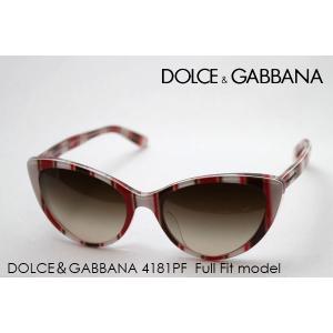 ドルチェ&ガッバーナ サングラス SALE特価 DG4181PF 272213|glassmania