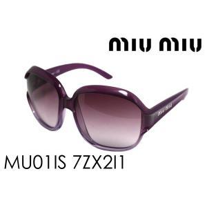 ミュウミュウ サングラス MU01IS 7ZX2I1|glassmania