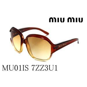 ミュウミュウ サングラス MU01IS 7ZZ3U1|glassmania