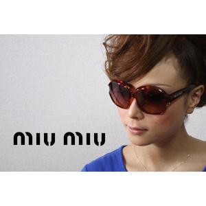 ミュウミュウ サングラス MU03IS 2AU1Z1|glassmania
