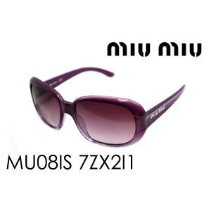 ミュウミュウ サングラス MU08IS 7ZX2I1|glassmania