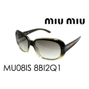 ミュウミュウ サングラス MU08IS 8BI2Q1|glassmania