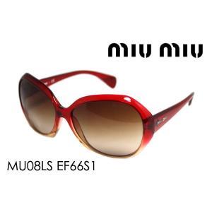 ミュウミュウ サングラス MU08LS EF66S1|glassmania