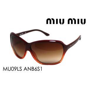 ミュウミュウ サングラス MU09LS ANB6S1|glassmania