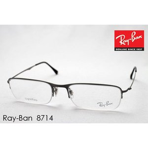 レイバン メガネ プレミア生産終了モデル Ray-Ban 伊達メガネ RX8714 1159 TITANIUM|glassmania