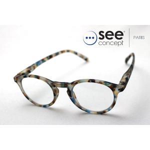 シーコンセプト メガネ 老眼鏡 See Concept SC LMS #A C18-BA|glassmania