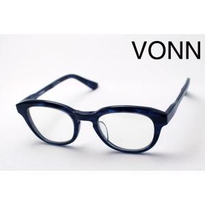 ヴォン VONN VN-002 BLUE ヴァイタル メガネ|glassmania