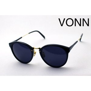 ヴォン VONN VN-003 BLACK ダル サングラス glassmania