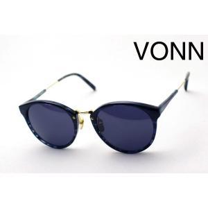 ヴォン VONN VN-003 BLUE ダル サングラス glassmania