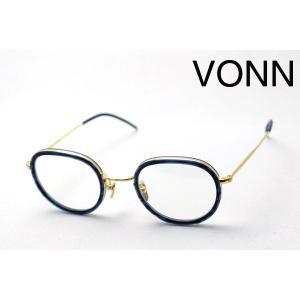ヴォン VONN VN-005 BLUE エース メガネ|glassmania