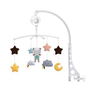 ベッドメリー ベビーベッドおもちゃ 赤ちゃん ベビー寝具 音楽プレイヤー 寝かしつけ用品 出産祝い 新生児 プレゼント