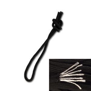 モデル:リーシュロープ カラー:ブラック 太さ:4mm 長さ:約35cm 商品状態:新品  パラシュ...