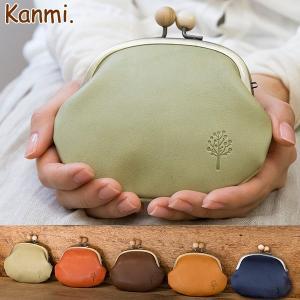 Kanmi ドロップツリー木玉ガマ口ポーチM/日本製 グレンフィールド|glencheck