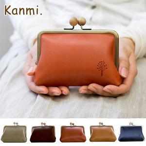 Kanmi ドロップツリー木玉がま口ミニウォレット グレンフィールド|GLENCHECK