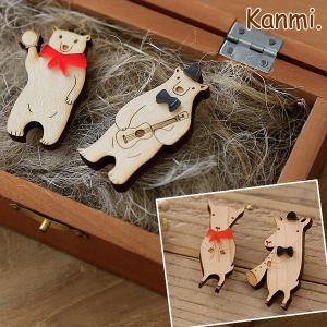 Kanmi. (カンミ) 楽団ブローチ/アクセサリー/日本製 glencheck