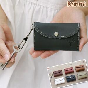 Kanmi. (カンミ) ドロップツリー マルチキーケース/革小物/日本製|glencheck