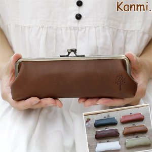 Kanmi. ドロップツリー メガネケース/レディース/日本製 glencheck