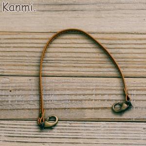 Kanmi. ショートストラップ(iphoneケース用) glencheck