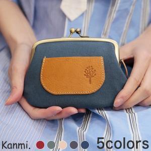 Kanmi. カンミ ドロップツリー ポケット親子がま口 WL19-95|GLENCHECK