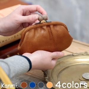 Kanmi. カンミ motte 木玉親子がま口  WL19-94|GLENCHECK