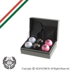 ゴルフ/オロビアンコスポーツ/ゴルフボール6個セット/TECKNOBALLS グレンフィールド glencheck