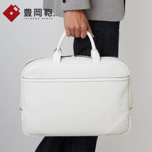 予約注文 豊岡鞄 日本製 ジェッターソフト ブリーフケース CREEZAN クリーザン はっ水レザー ビジネスバッグ ブリーフバッグ ビジネス 出張 本革 メンズ 男性|glencheck