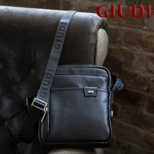 イタリア製 メンズ ミニショルダーバッグ [GIUDI/ジウディ][本革 男性用 ショルダーバッグ 斜め掛け]|glencheck