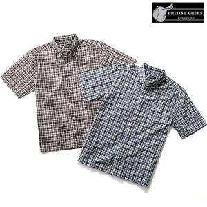 ギンガムチェックシャツ2枚組セット/半袖 グレンフィールド|glencheck