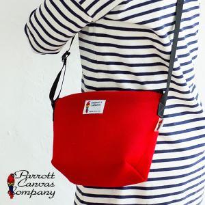 PARROTTCANVAS Mesh Shoulder Bag メッシュミニショルダーバッグ PARROTT CANVAS パロットキャンバス|glencheck
