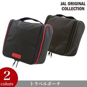 JAL ORIGINAL/JALオリジナル トラベルポーチ トラベル 旅行 グッズ 航空グッズ  [JA]|glencheck