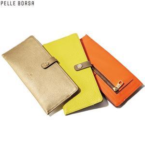 PELLE BORSA ペレボルサ  薄型長財布「レネット」|GLENCHECK