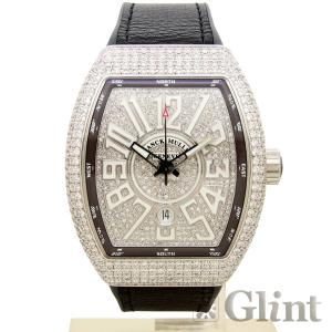 FRANCK MULLER(フランクミュラー)ヴァンガード アフターダイヤモンドモデル(Ref.V45SCDT)〔グレー〕〔腕時計〕〔新品〕〔メンズ〕