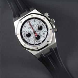 sale retailer 86daa 303ed ラバーB【RUBBERB】オーデマピゲ【Audemars Piguet】ロイヤルオーク 39mmモデル専用ラバーベルト【ブラック】【VELCRO】  ※時計は付属しません。