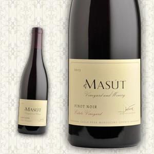 赤ワイン(1本単位)マスート Masut 2013 カリフォルニア ピノ・ノワール Estate Vineyard フルボディ|global-america-net