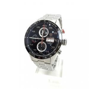 TAG HEUER タグホイヤー 腕時計 カレラ クロノ100M キャリバー16 縦三つ ブレス C...