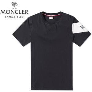 モンクレールガムブルー MONCLER GAMME BLEU Tシャツ 8007050 829af 780 ネイビー メンズ 【2017年 春夏 新作】【送料無料】  丸首 カットソー クリアランス global-round