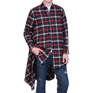 【最新作】 ディースクエアード DSQUARED2 コレクション着用 チェックシャツ DM0098 S47864 レッド メンズ カジュアルシャツ ブランケット Check Blanket Shirt global-round